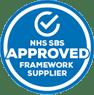 NHS SBS Approved framework supplier blue logo NowSkills IT apprenticeship accreditation partner